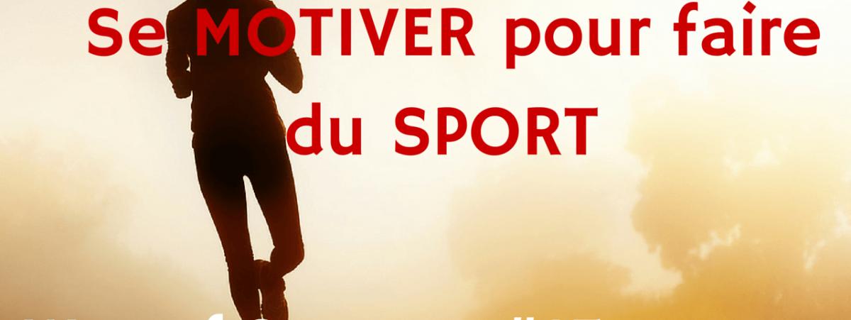 se motiver pour faire du sport